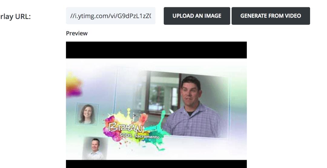 Video Thumbnail Overlays