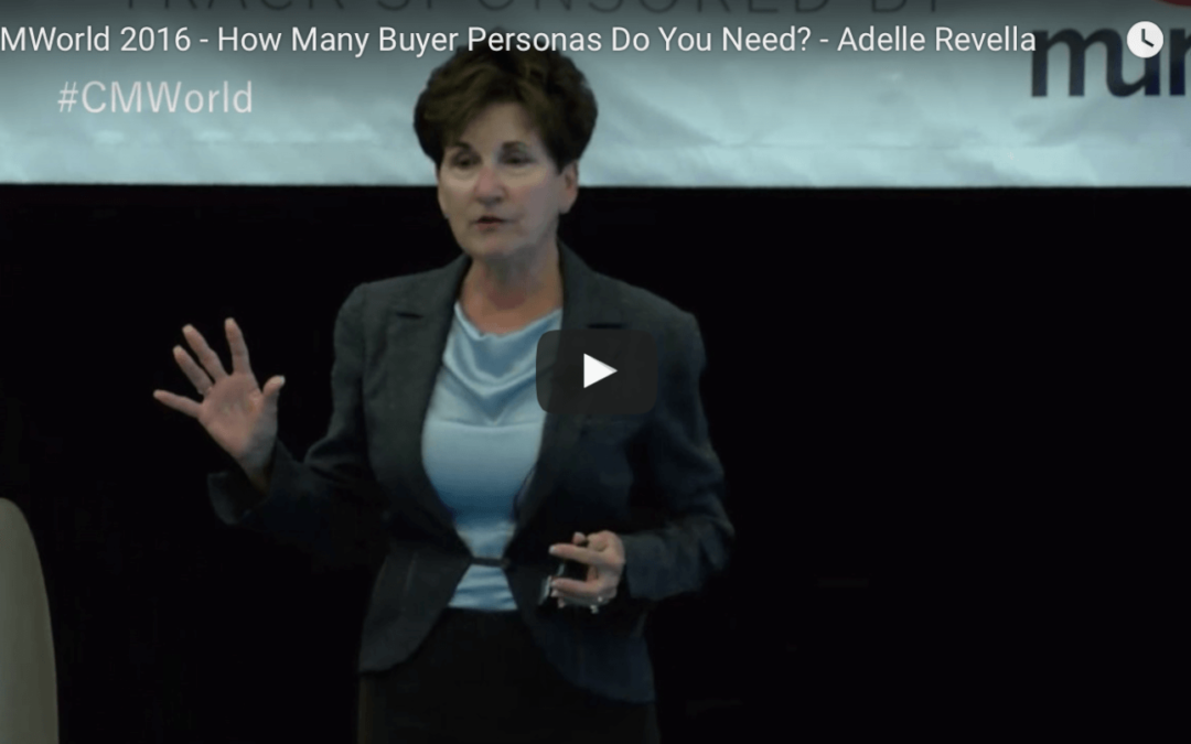 Easily Target the Best Business Blog Audience – Buyer Personas Mental Growth Hack